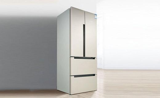 博世BCD484W冰箱:极简设计颜值担当,双循环风冷果蔬更新鲜