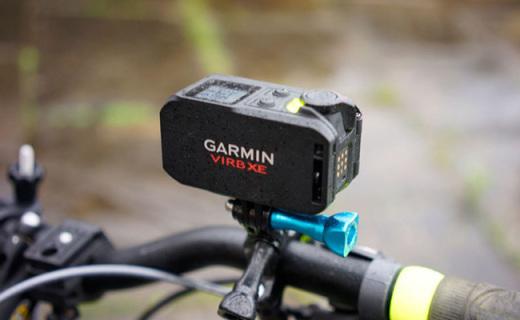佳明VIRB XE摄像机:无线连接实时查看,50米防水内置GPS