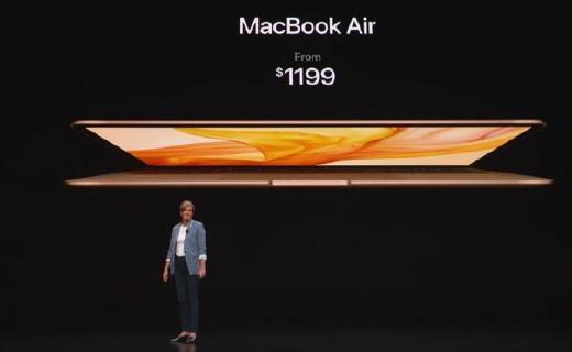 9499起!全新MacBook Air发布:更轻更薄,屏幕、性能提升显著