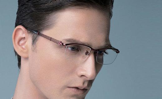 Charmant近视镜框:高硬度纯钛材质,体现精英白领气质