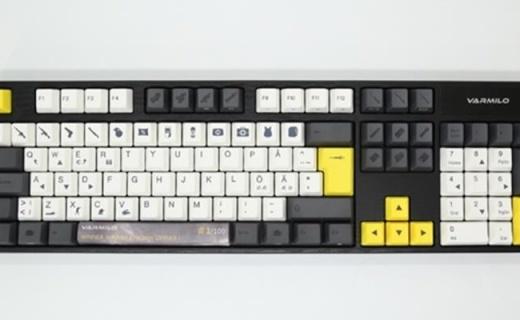 五种轴体,阿米洛推出吃鸡订制键盘