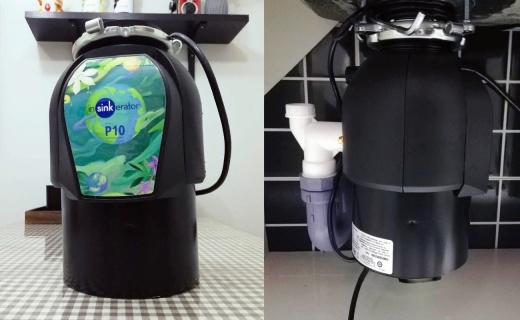 厨房必备的垃圾处理大杀器,爱适易食物垃圾处理器体验