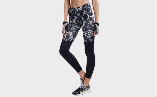 HOTSUIT女款健身瑜伽裤:面料轻薄透气,可加速血液循环