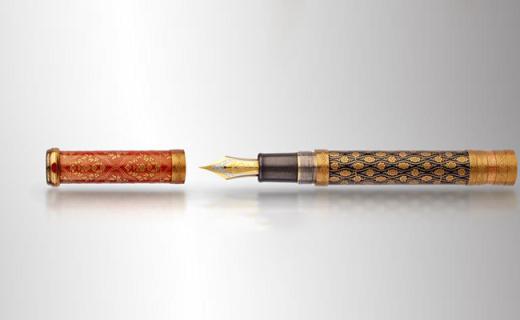 日本国宝级大师手工打造的钢笔,全球限量仅1支