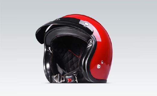 小牛骑行头盔:复古时尚外形,EPS缓震内衬,金属快插安全扣