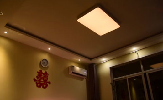 听人说话就能开灯和调亮度,Yeelight皓石吸顶灯Pro体验