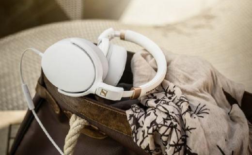 森海塞尔HD4.30i耳机:立体声单元音质出色,智能遥控通话清晰。