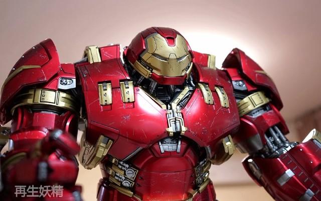 HotToys 钢铁侠 反浩克 (Hulkbuster)装甲上手展示