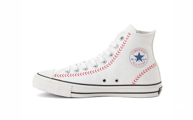 匡威(Converse)ALLSTAR100BASEBALLHI/OX纪念鞋款