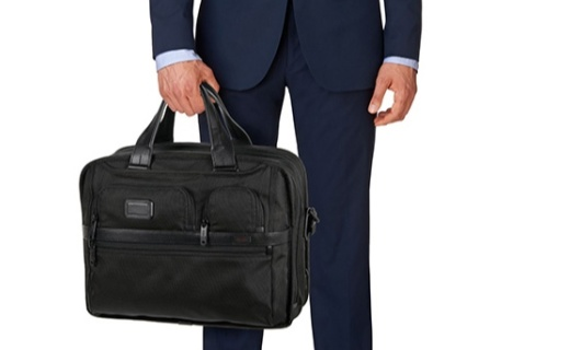 TUMI男士商务包:耐用弹道尼龙材质,可装15英寸笔记本电脑