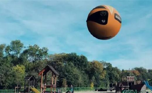 反重力还能潜水的无人机,蠢萌球形设计