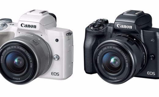 佳能发新无反相机,支持4K视频内置取景器