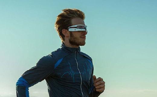 Jet 智能眼镜:实时反映身体状态,模块化设计,天气时间也能看