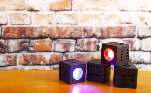 了不起的迷你照明装置:影棚级灯效,还支持编程!