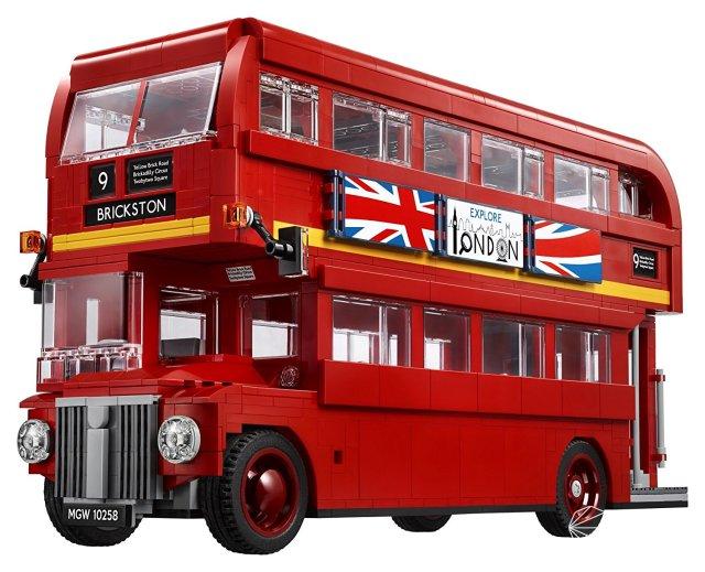 乐高(LEGO)10258伦敦巴士