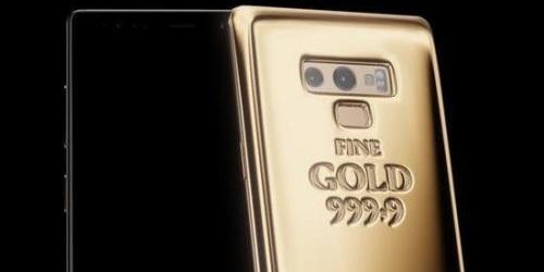 三星推出黄金定制版Galaxy Note 9,这才是真 · 土豪金