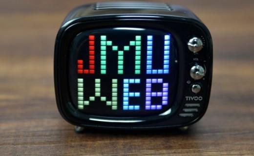 像素音箱也能这么可爱,Divoom TIVOO像素电视蓝牙音箱