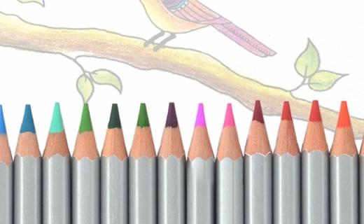马可72色油性彩铅:环保彩芯着色均匀,颜色超全绘画必备