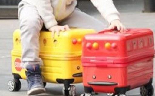 Travel Buddies儿童拉杆箱:超轻箱体设计,强韧耐磨,时尚配色