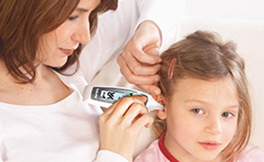 博雅FT58体温仪:无水银安全耳膜测温,只需1s显示体温