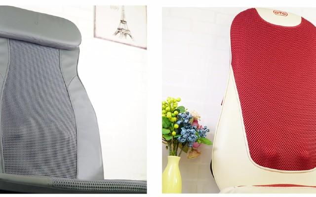 办公室全背推拿选哪款?乐范背部按摩椅垫对比豪特腰背松按摩器