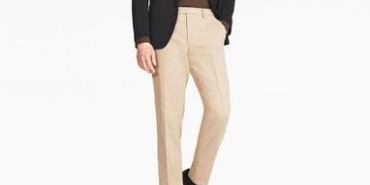 优衣库400139无褶长裤:面料立体剪裁舒适有型,速干性能便于打理