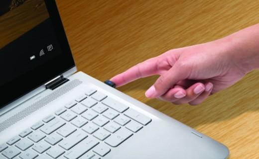 笔记本专用指纹锁,再也不怕别人乱动你电脑了