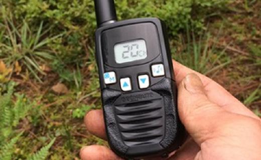 迪卡侬手持对讲机,保持通话不掉线5公里超远传输