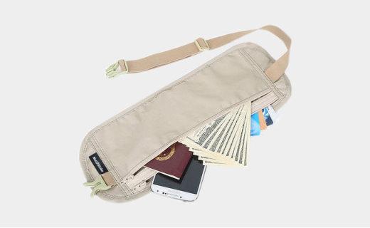 NatureHike腰包:纯棉与尼龙布材质,舒适透气贴身收纳