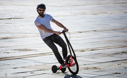 能让全身得到锻炼的自行车,无座设计告别爆菊风险