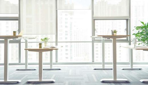 能电动升降的办公桌,让我站坐交替工作更轻松