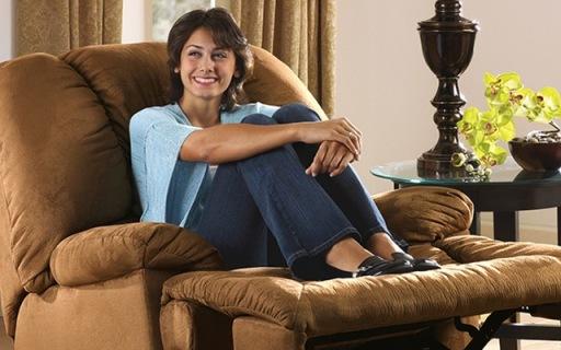 Ashley U8美式懒人功能沙发:三段式贴合身体,一款可以睡的沙发