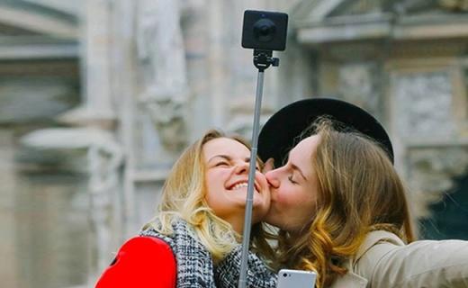 防水防尘的小米全景相机,双鱼眼镜头360°无死角