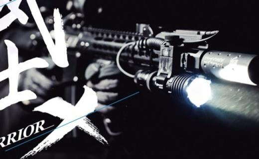 黑夜里的高射炮,强悍的武士—Olight WARRIOR X战术强光手电评测