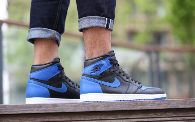 回味元年惊喜,Nike Air Jordan 1黑篮上脚体验