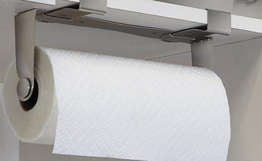 Umbra MOUNTIE骑警纸巾架:现代元素质感十足,贴心绒衬防滑防刮