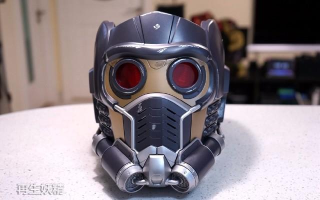银河护卫队 Star-Lord 星爵可穿戴头盔 开箱把玩
