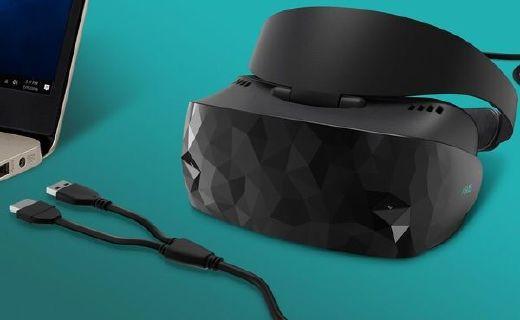 华硕推最新款MR混合现实头显,3D外观3K分辨率