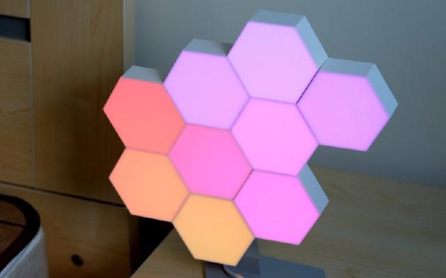 几何图形的智能灯,随心所欲,拒绝被定义,LifeSmart云起量子灯测评
