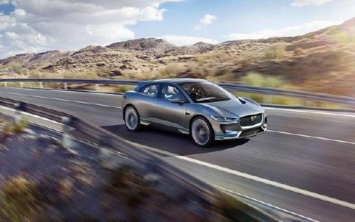 捷豹首款纯电动SUV,外观内饰都科幻