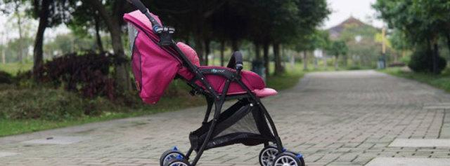 轻便坚固易携带,宝宝的专属座驾 — 如宝zooper换向婴儿推车体验