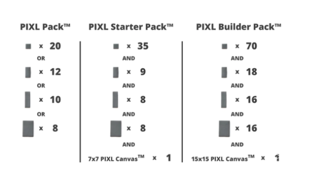 PIXL™磁性建筑系统