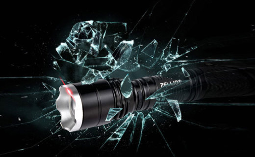 Pelliot强光手电筒:五档光束随意切换,省电便携户外好帮手