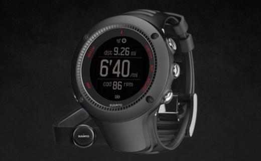 颂拓拓野3 RUN 运动腕表:GPS心率监测高效运动,百米防水无惧恶劣环境