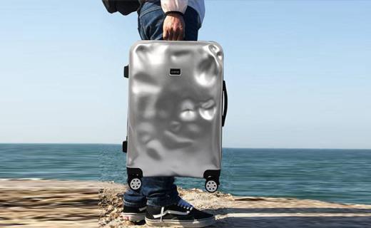 overket时空旅行箱:极简设计超时尚,轻便耐用说走就走