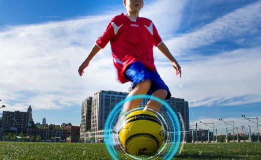 能连手机App的智能足球,梅西可能就是这样练成的
