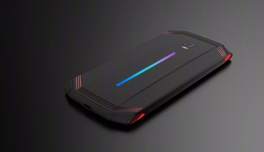 努比亚新品游戏手机,内置四个散热风扇