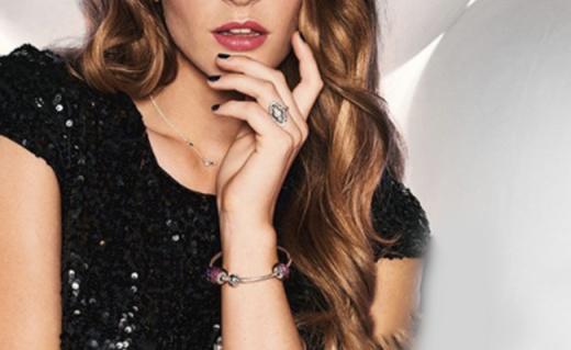 Pandora闪耀的心串饰:璀璨又通透,可搭配手链及项链