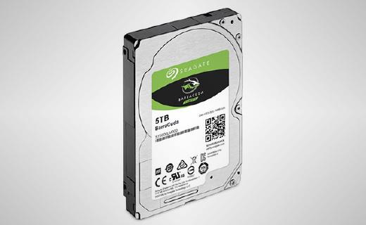 希捷2.5英寸5TB硬盘新品,小尺寸有大容量