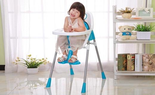 ALcoco儿童餐桌椅:多点支撑更稳固,护裆安全带双重保护